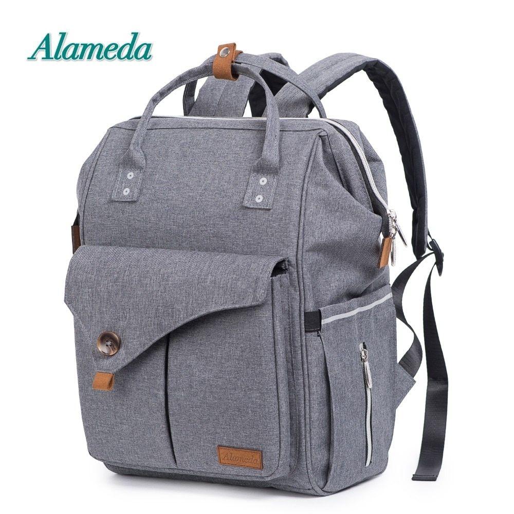 Fashion nappy bag large capacity mochila maternidade maternal and child package diaper bag waterproof maternity bag backpack