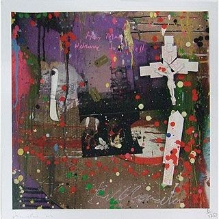 Dan Baldwin - the other half of the Kill Kenada - Album Cover Diptych