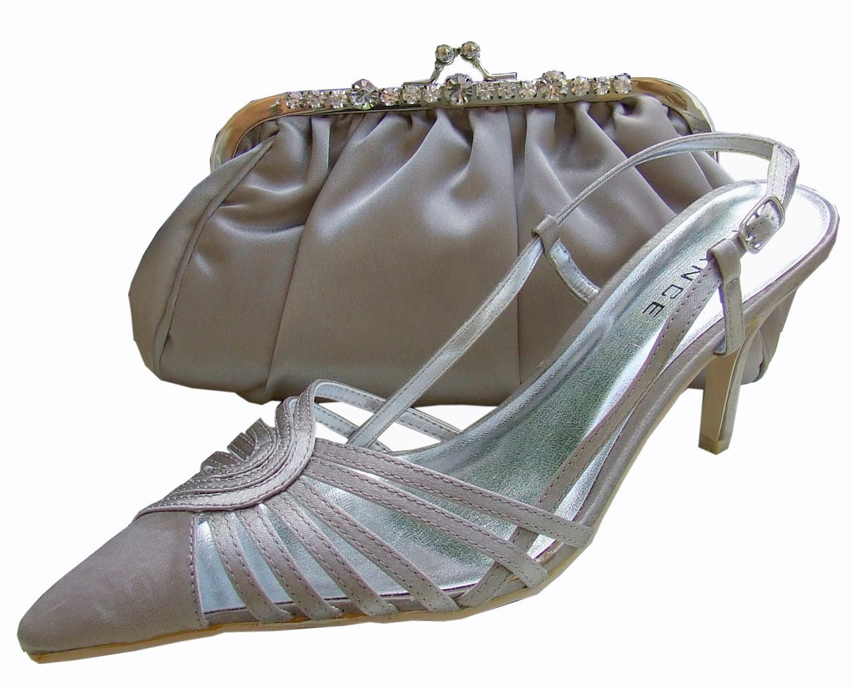Menbur Avance Stone Evening Shoes ~ for mothers of bride or groom 7f575416e8d