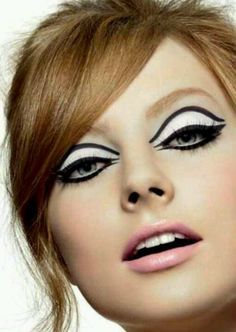 60s Makeup On Pinterest 60s Makeup 60s Style And 60s Hair With