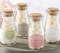 Personalized Milk Jar   Kateu0027s Rustic Baby Shower Collection (Set Of 12)