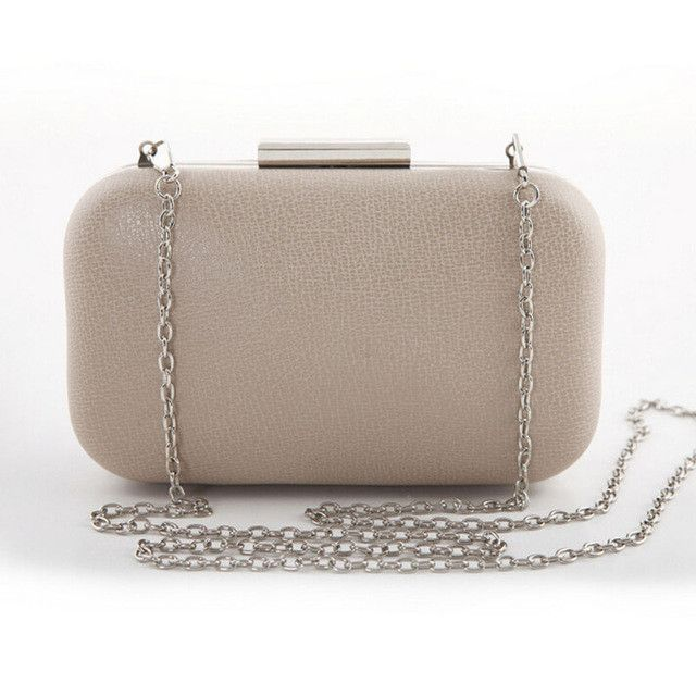 Fashion Ladies Clutch Bag Candy Color Women Evening Bag Chain Handbags  Designer Bridal Wedding Party Purse bolsas mujer XA584C 8b58c8ac19224