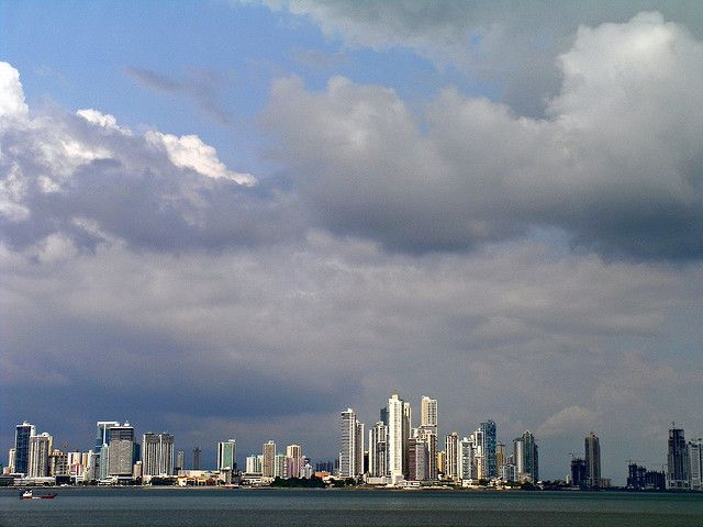 Panama City from the water