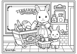 Image result for sylvanian families coloring pages coloring in