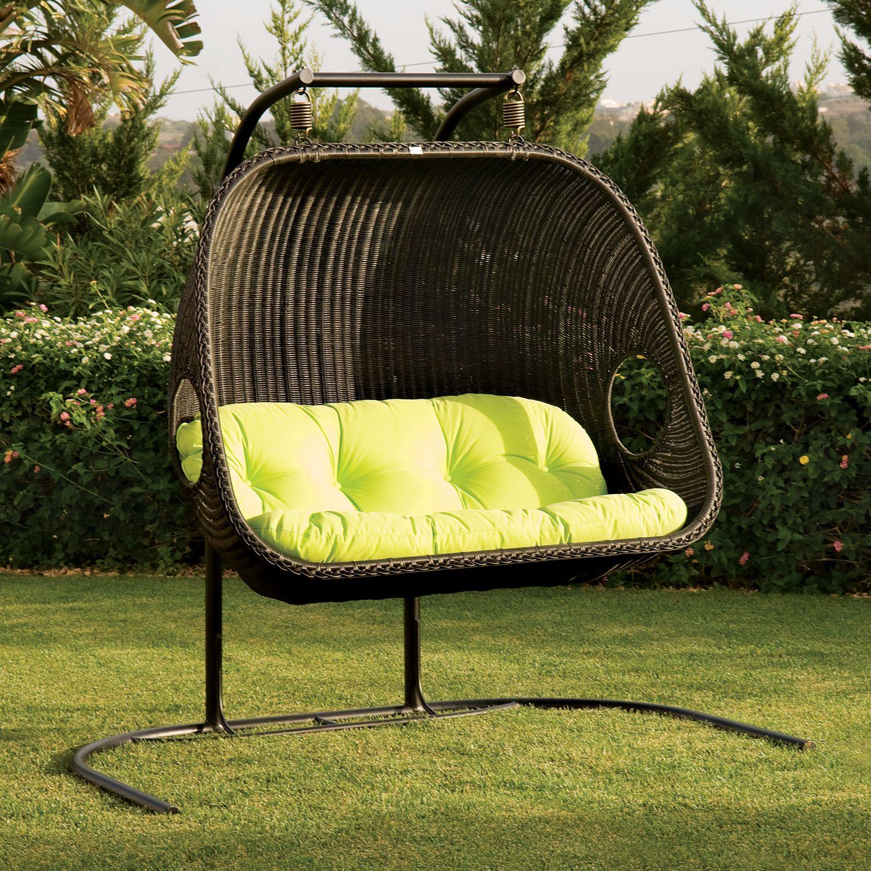 Double swingasan chair - Shelving