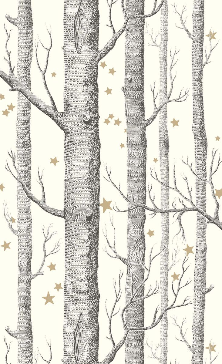 Papier Peint Woods Stars Cole And Son Cole And Son Wallpaper Cole And Son Star Wallpaper