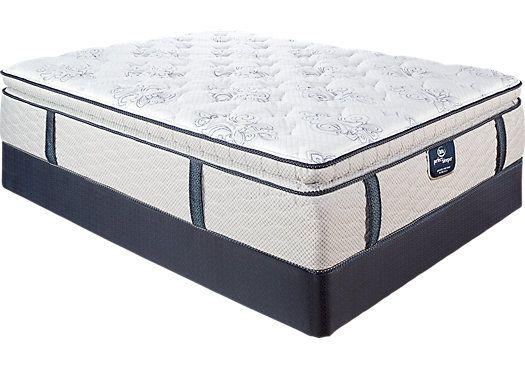 Serta Perfect Sleeper Seneca Crossing Queen Mattress Set 838 00