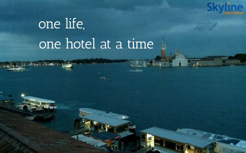 one life,  / one hotel at a time