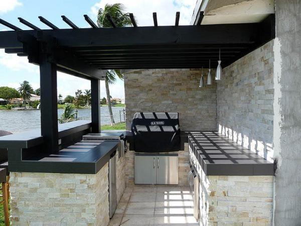Etonnant Outdoor Kitchen Designs: Style Outdoor Kitchen Designs LaurieFlower 037