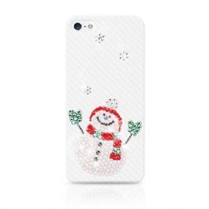 """Ultra Case Luxury Edition """"Happy Snowman"""" für iPhone 5 bei www.StyleMyPhone.de"""