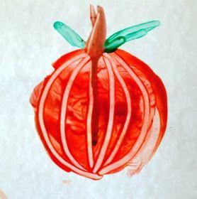 Hallowe'en Pumpkin Painting