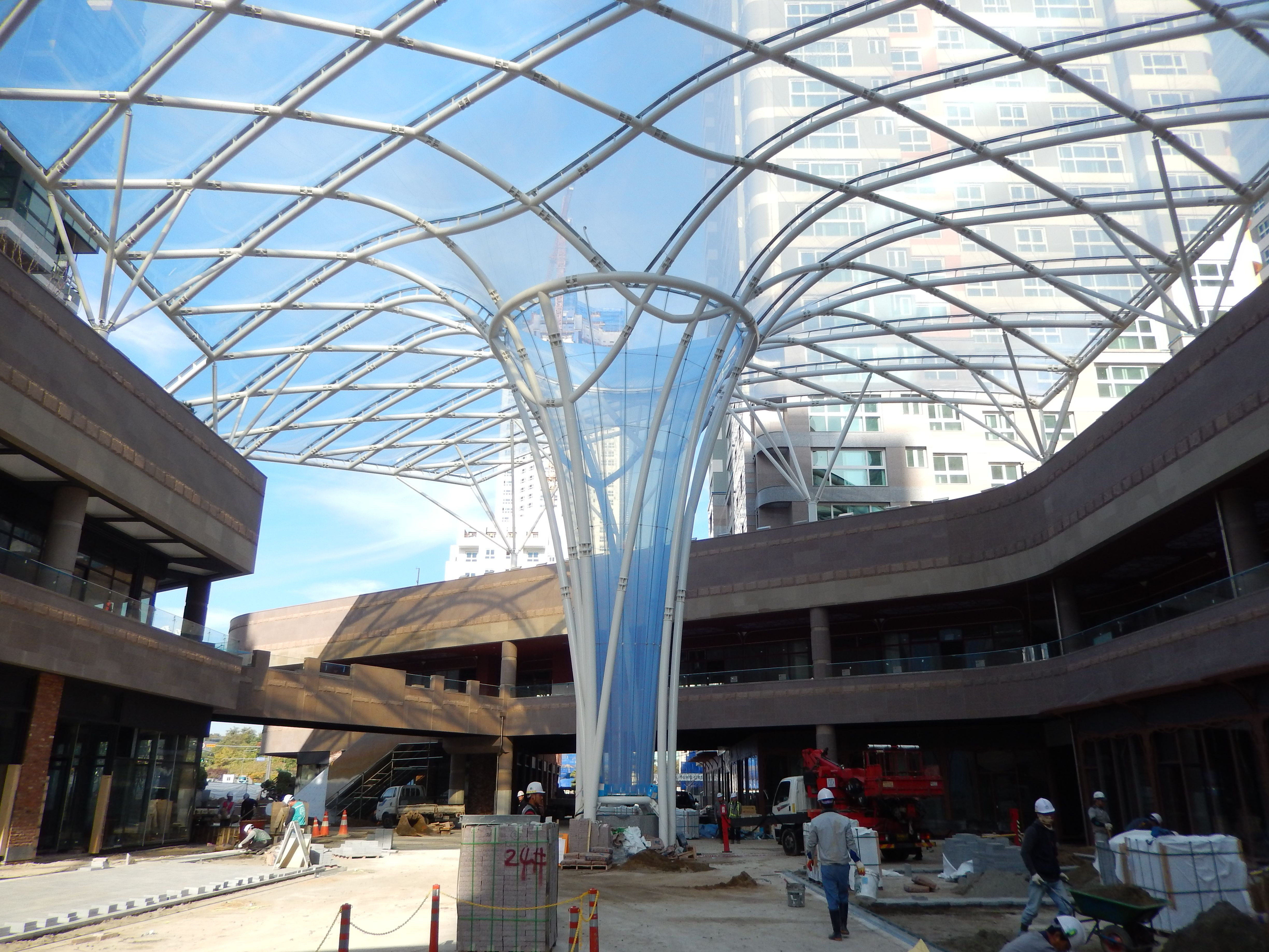 Pin By Eulseok Jeong On Etfe Film Structures Pinterest
