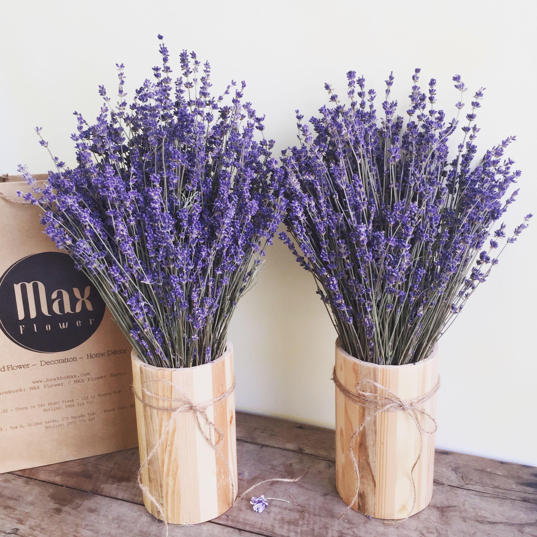 Lọ hoa Lavender English Vintage Bình hoa, Hoa, Trang trí