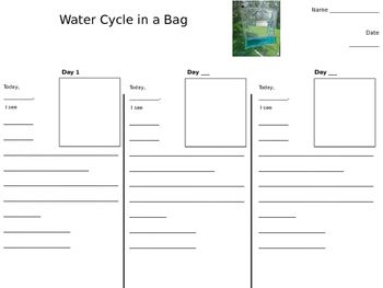 Math Pattern Worksheets Excel Water Cycle In A Bag Worksheet  Worksheets Cycling And Activities Independent Reading Worksheets with Conjunction Worksheet For Grade 5 Pdf Water Cycle In A Bag Worksheet Pictogram Worksheets Ks1 Pdf