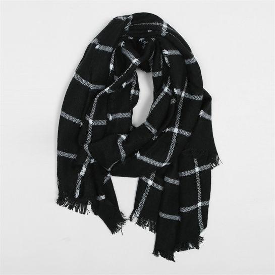 446b3d176787 Echarpe oversize carreaux fenêtre - Collection Bonnet-écharpe-gants - Pimkie  France