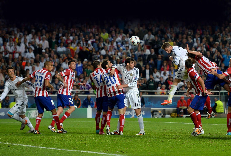 Reyesdeeuropa The History Real Madrid S 10 European Cups Gol De Ramos Real Madrid Atletico Sergio Ramos