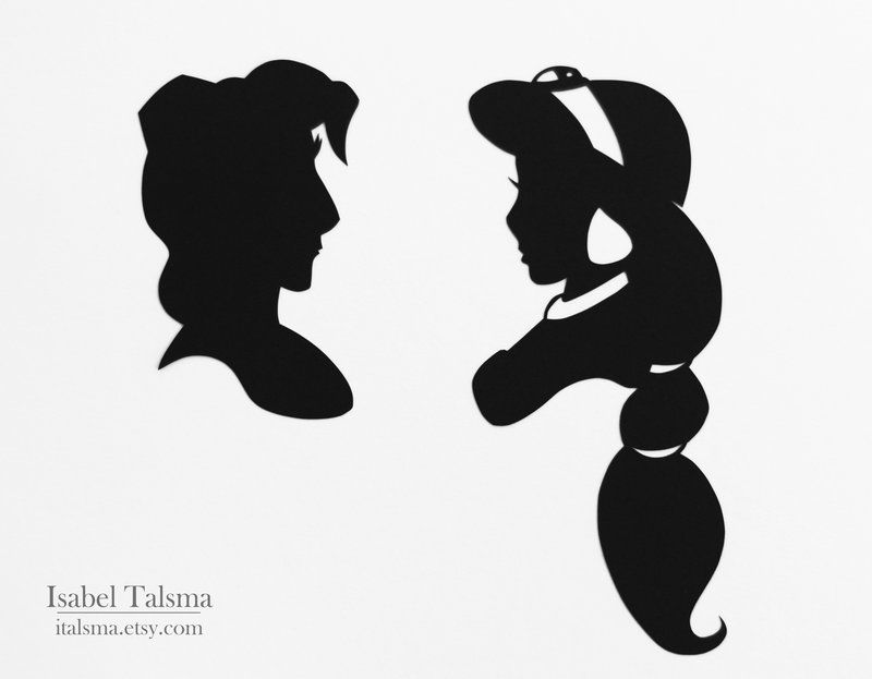 60 best Disney Silhouettes images on Pinterest Disney