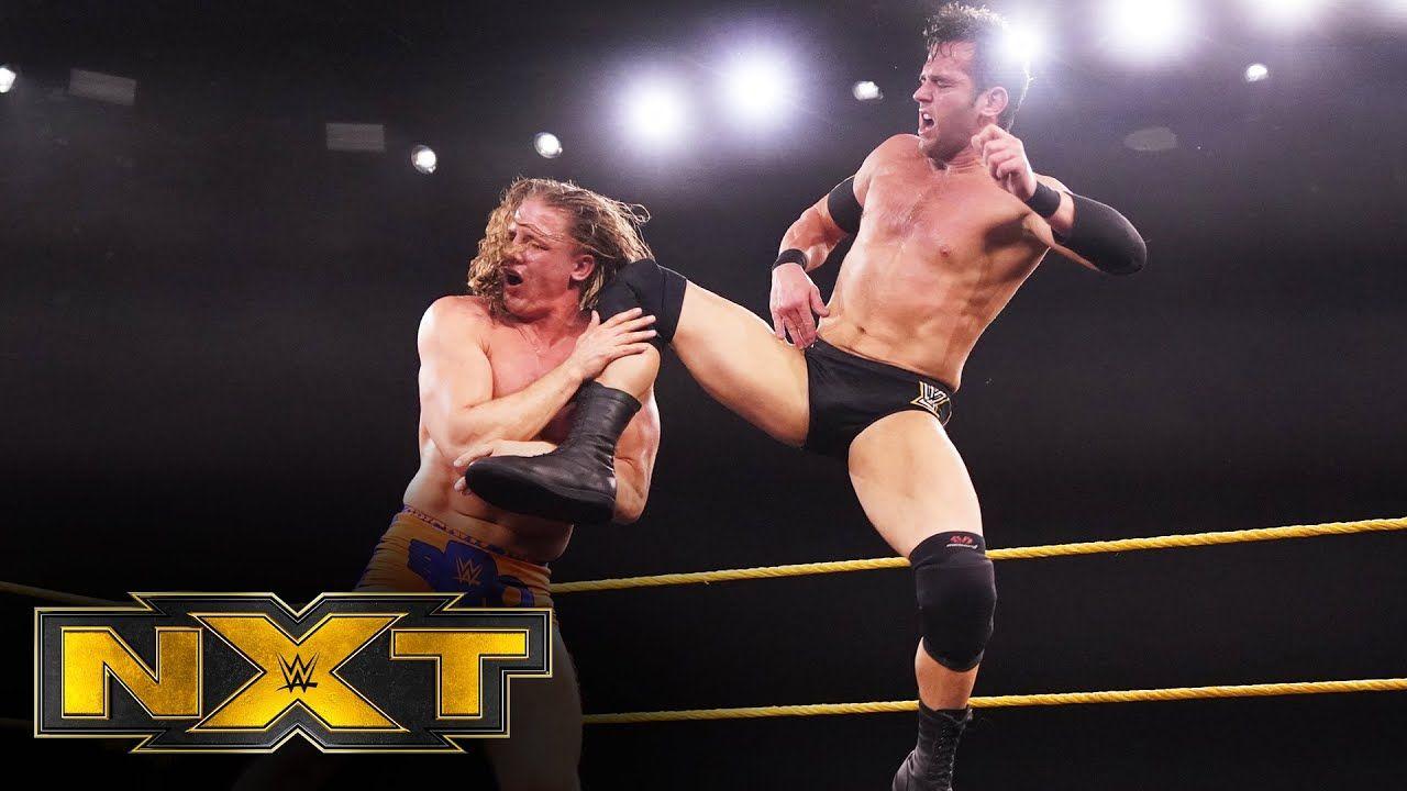 Matt Riddle vs. Roderick Strong WWE NXT, March 25, 2020