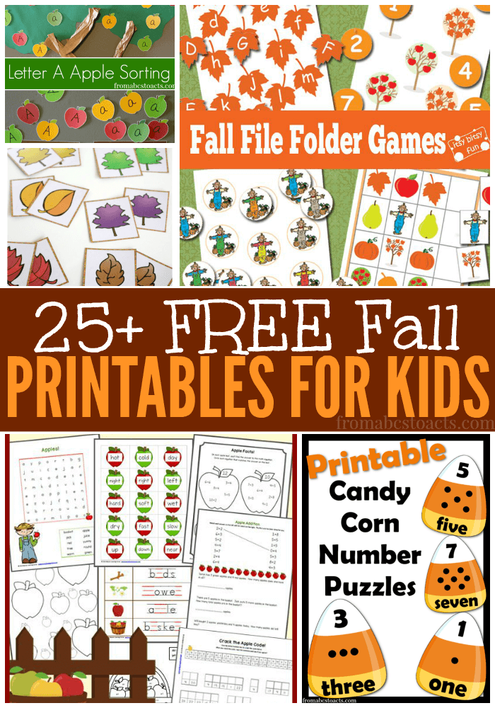 36+ Printable fall crafts for toddlers information
