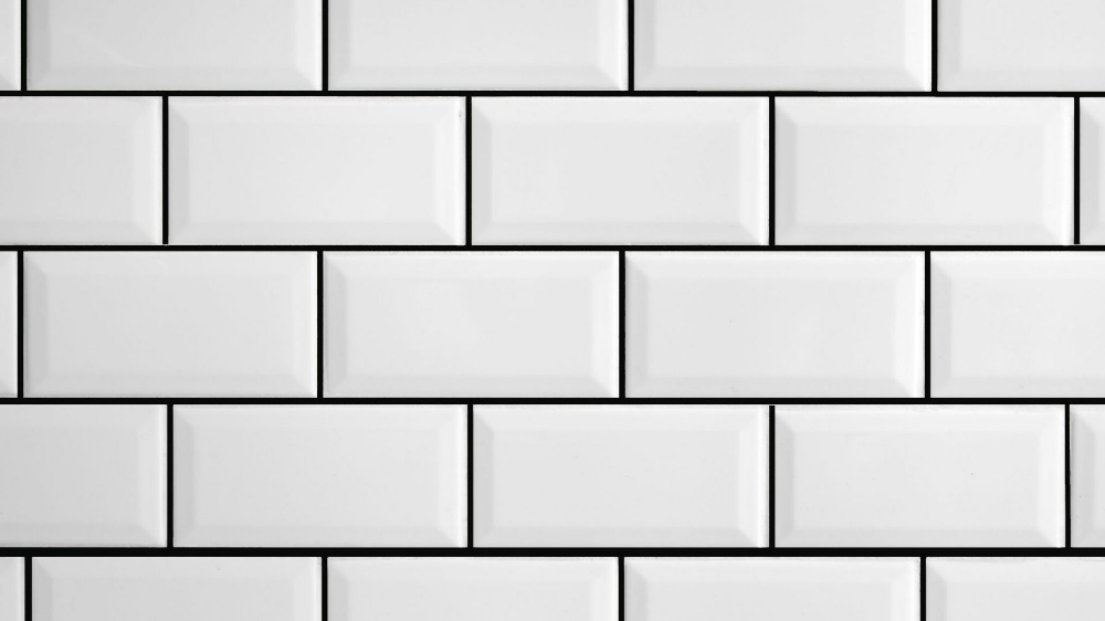 Using Tile Paint You Don T Have To Regrout With This Handy Tip Rainbow Chalk Markers In 2020 Grout Pen Painting Tile Black Grout