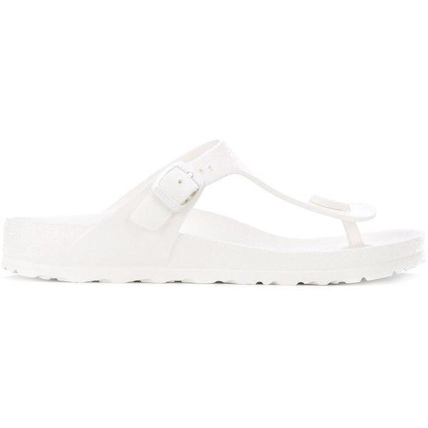 Unisex shoes, Shoes, White sandals