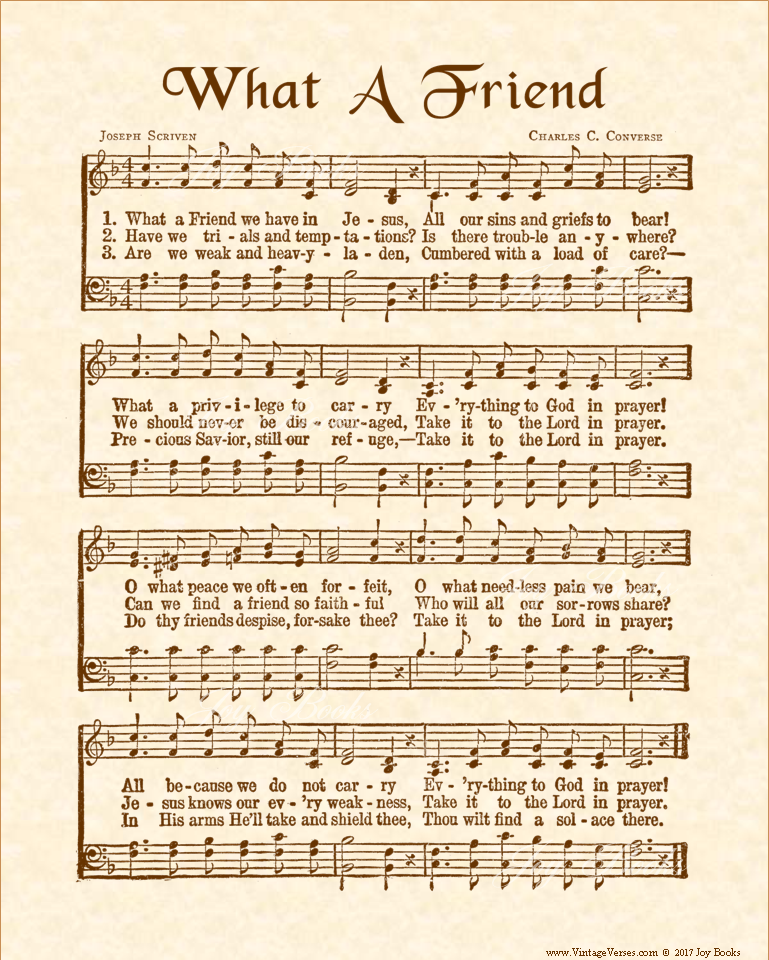 Amazing Grace Free Piano Sheet Music With Lyrics: Antique Hymn Sheet Music With Lyrics, Vintage-look Wall