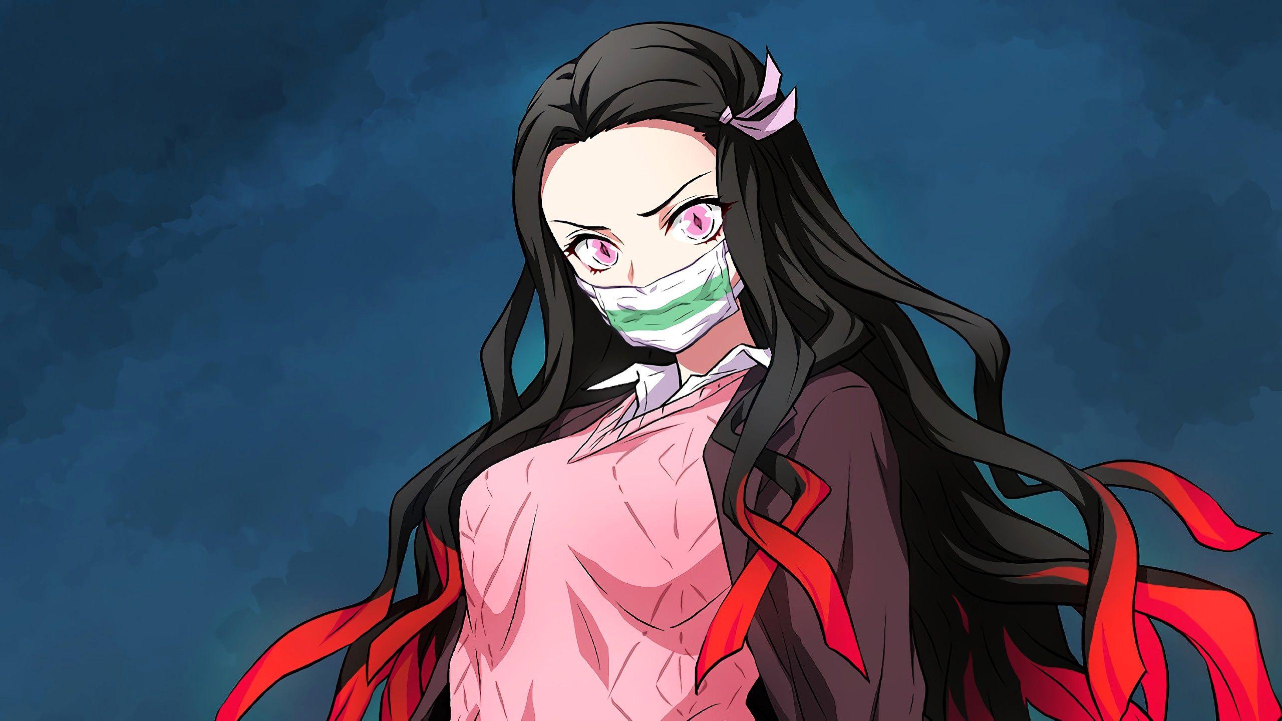Fresh Nezuko Kamado Kimetsu No Yaiba 4k Wallpaper Anime Demon Slayer Anime Anime