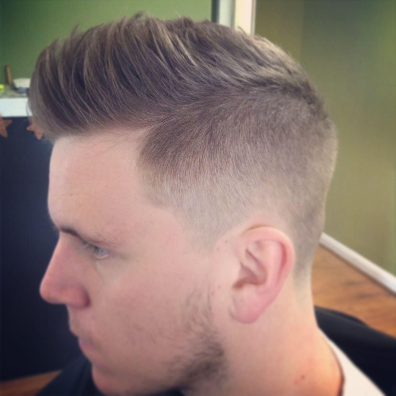 White Wall Military Haircut Barbershops Pinterest Haircuts - High taper fade haircut