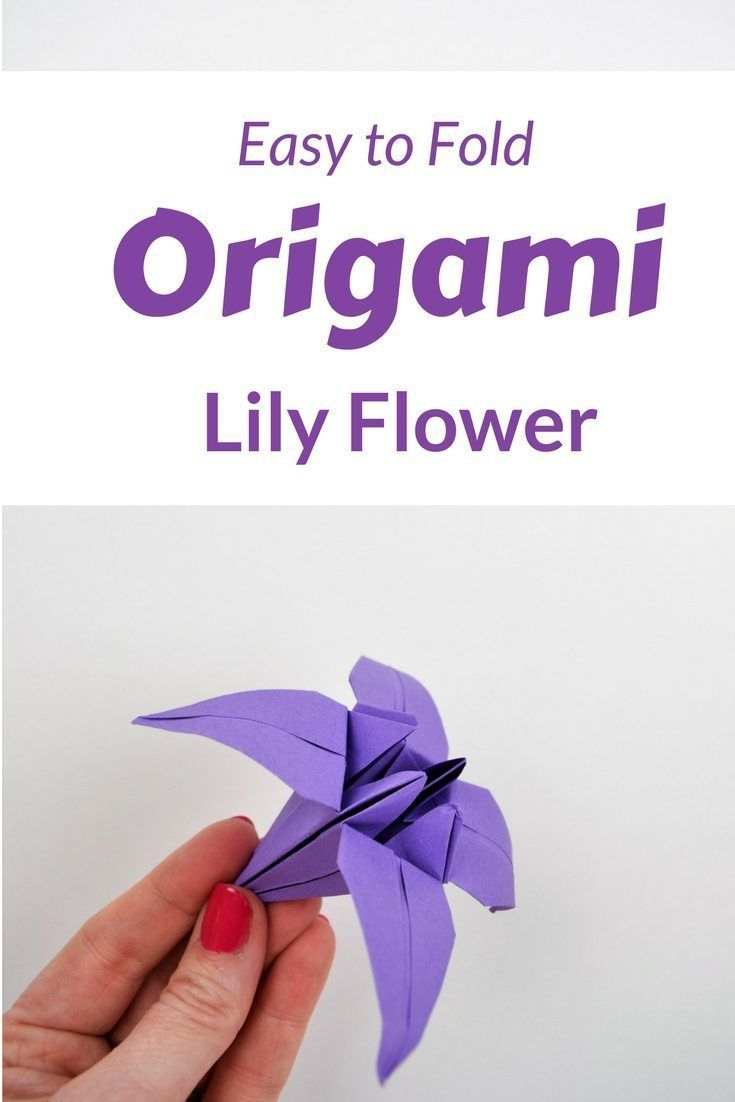 Adorable Simple Rose Origami : Origami Tutorial How To Make An ... | 1102x735