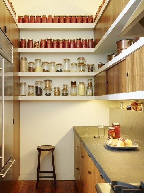 Kleine Küche mit Vertikale Aufbewahrung Wohnen Pinterest - küchenzeile kleine küche