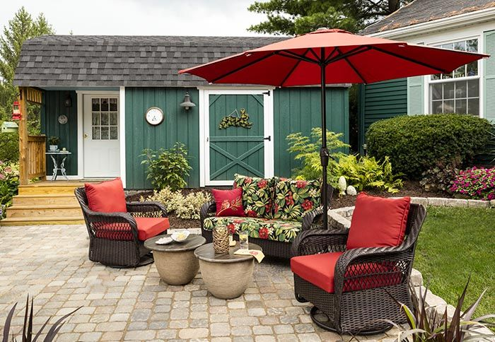diy projects and ideas red patio