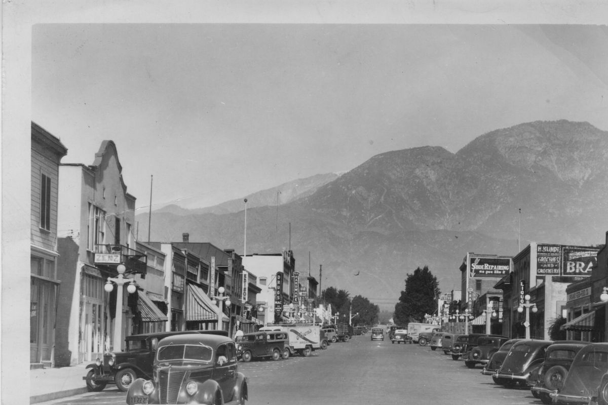 Second Avenue Looking North From A Street 1938