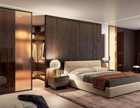 Cabina armadio dietro letto cabina armadio nel 2019 bedroom bedroom decor e minimalist bedroom - Cabina armadio dietro letto ...