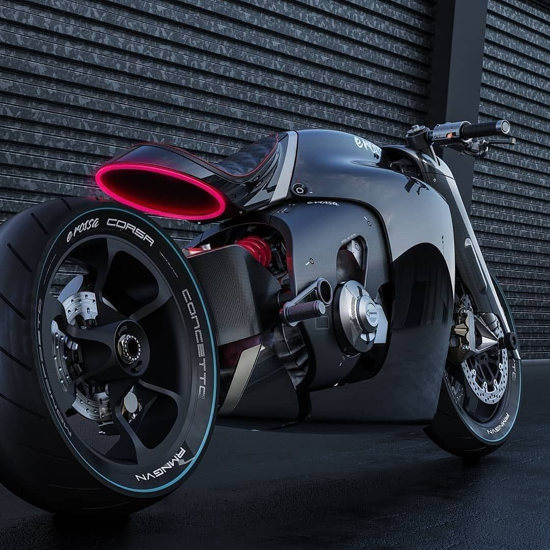 1 561 Likes 11 Comments Car Design Italy Cardesignitaly On Instagram E Rossa Elmet Concept By Concept Motorcycles Motorbike Design Electric Motorbike