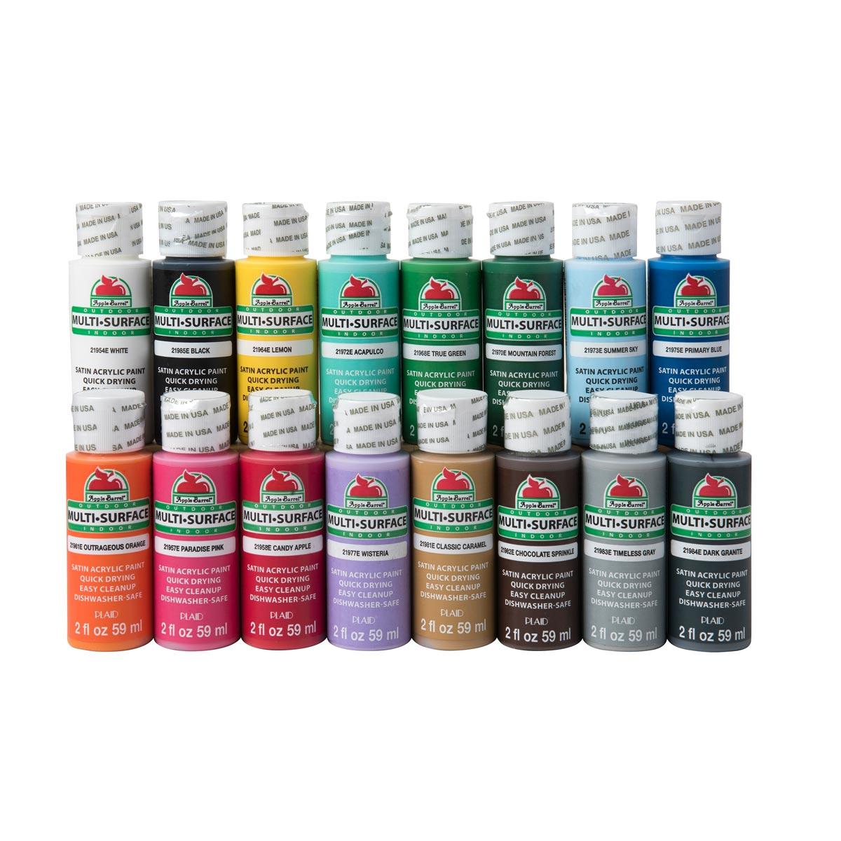 Satin Acrylic Paint Set Giveaway In 2020 Acrylic Paint Set