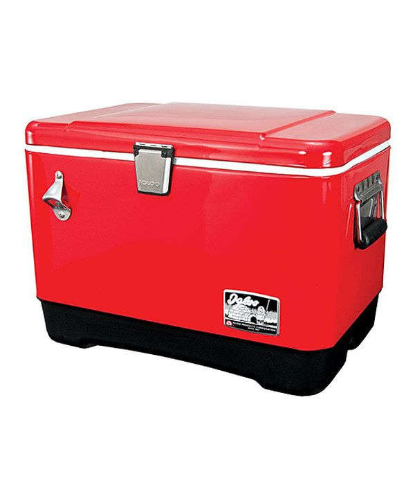Look At This Igloo Red Stainless Steel 54 Quart Cooler On Zulily Today Cooler Igloo Cooler Igloo
