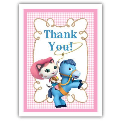Sheriff Callie Note Cardnote cards thank you cards Sheriff Callie