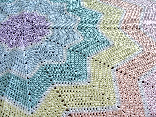 25 Most Popular Free Crochet Patterns Crochet Ripple Blanket