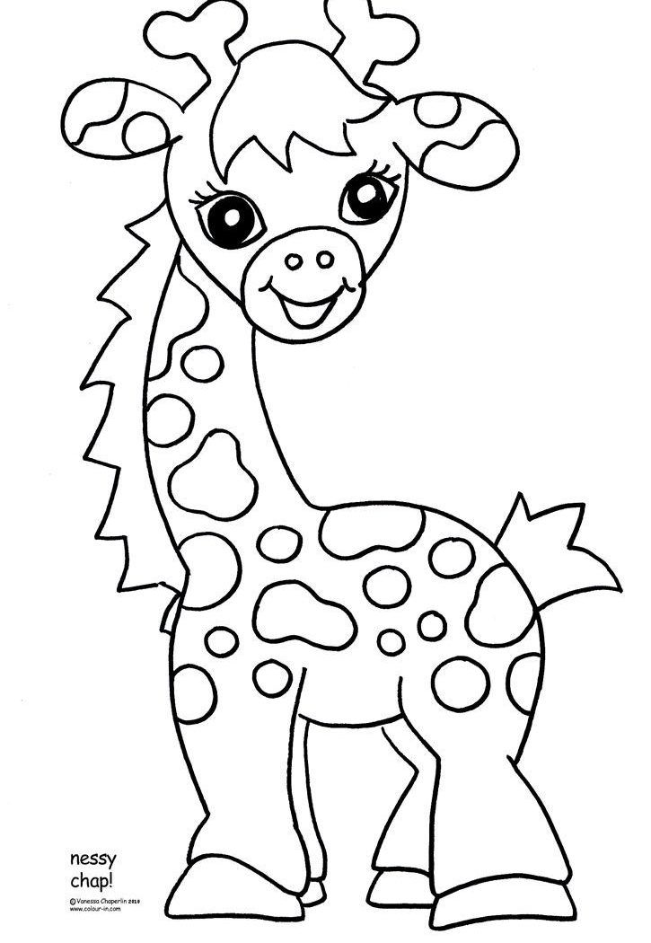 baby zoo animal coloring pages | Coloring Pages Ideas | Pinterest