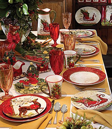 Winter Garden Dinnerware Dillards