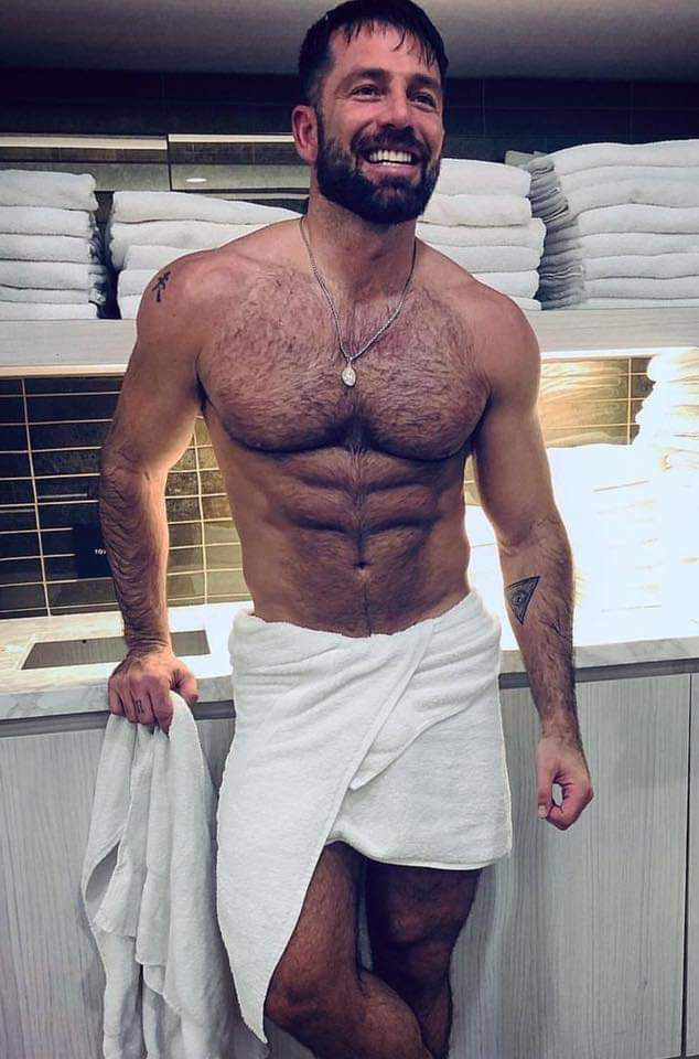 Pin by gagabowie on Bear muscle   Bear men, Hairy chested