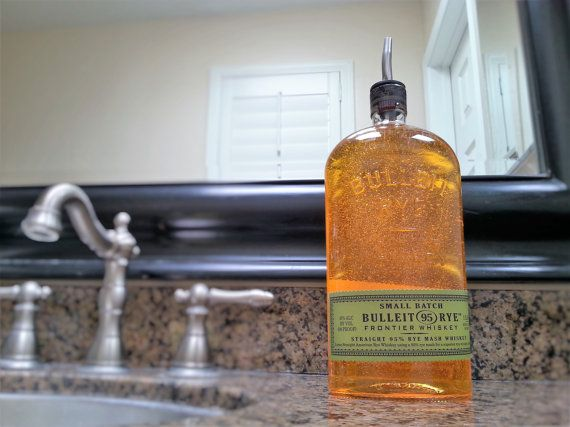 Bulleit Bourbon Soap Dispenser Use Them To Dispense Hand Soap