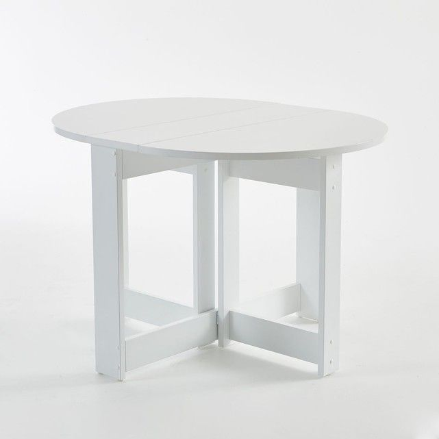 Table Ronde Pliante Everett La Redoute Shopping Prix Table Ronde Pliante Table Pliante Table