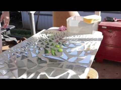Mirror Mosaic Wall Art video] diy mirror mosaic wall art - diy scoop | diy scoop | living