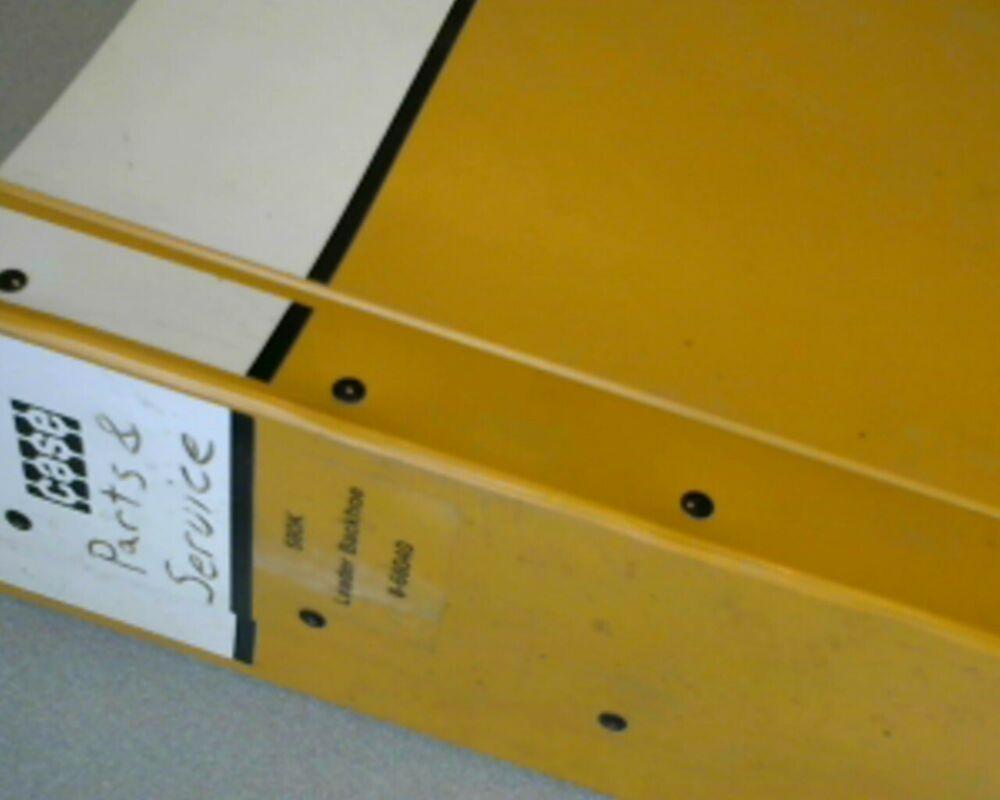 Case 580K Tractor Backhoe Loader Parts Book Catalog Shop