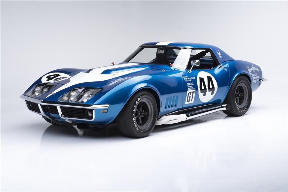 1968 CHEVROLET CORVETTE L88 RACE CAR CONVERTIBLE - Barrett-Jackson ...