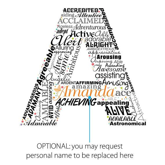 Positive Words That Start With Letter A To Describe A Person