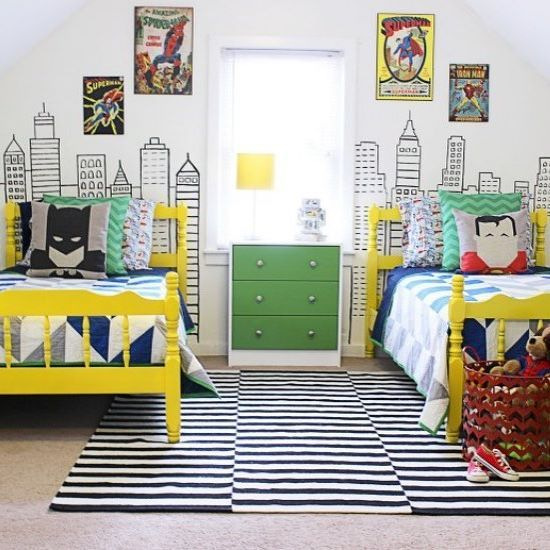Absolutely Love This Superhero Room By Thanks For The Tag!   Home Decor For  Kids And Interior Design Ideas For Children, Toddler Room Ideas For Boys  And ...