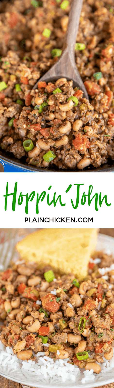 Hoppin' John a New Year's Tradition! Southern legend has
