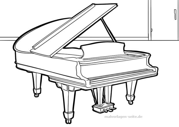 Malvorlage Flugel Musik Kostenlose Ausmalbilder Malvorlagen Kostenlose Malvorlagen Ausmalbilder